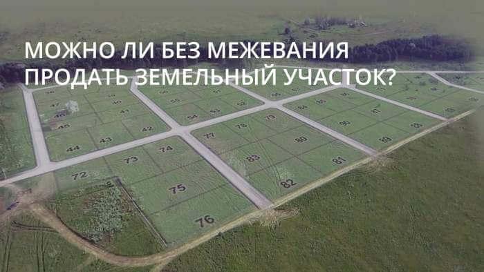 mozhno-li-bez-mezhevaniya-prodat-zemelnyj-uchastok